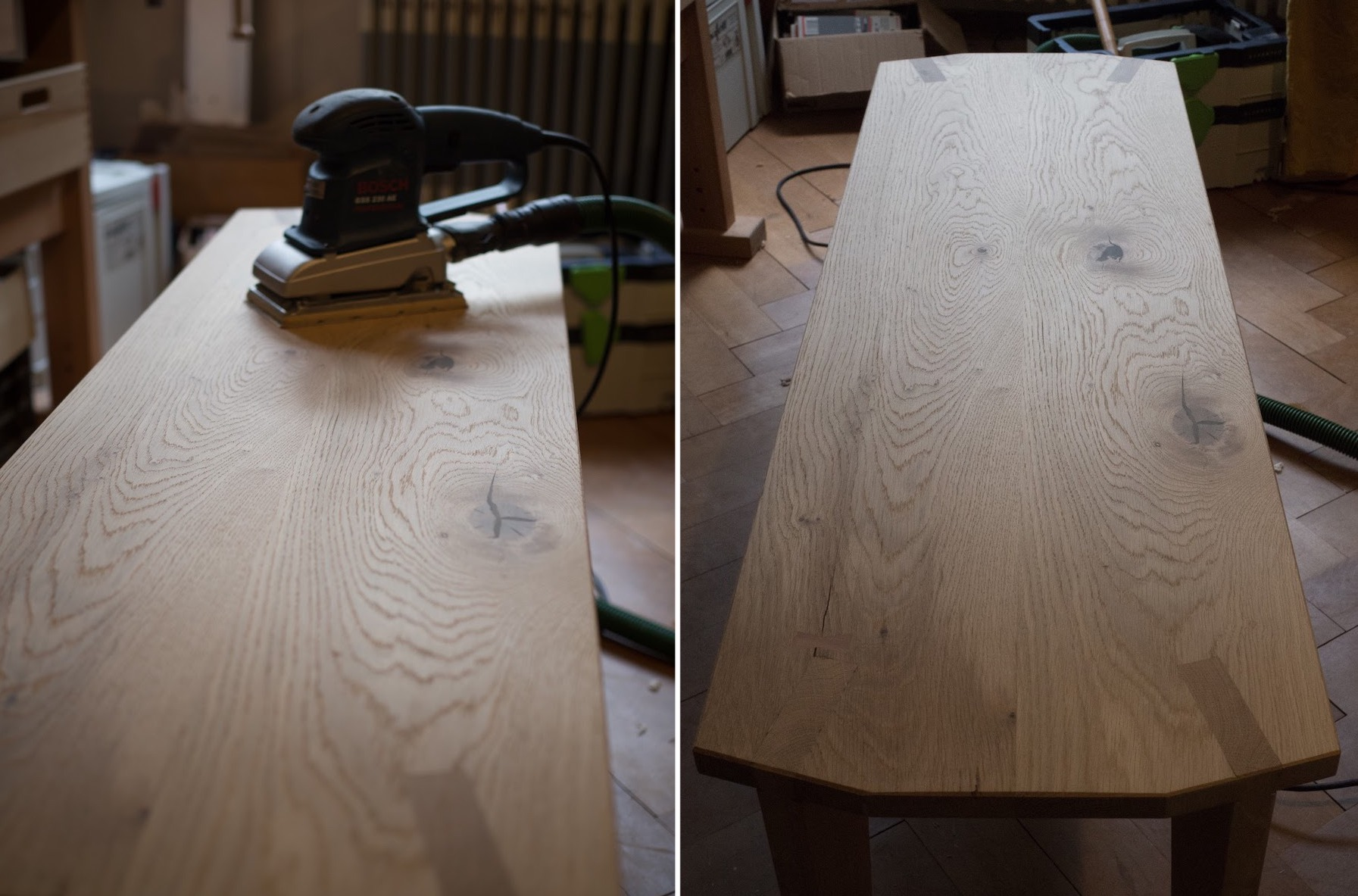 Sanding is annoying and takes forever. I still recommend going down to a pretty fine grit size like 400, it pays off in the form of a silky-smooth surface finish later.